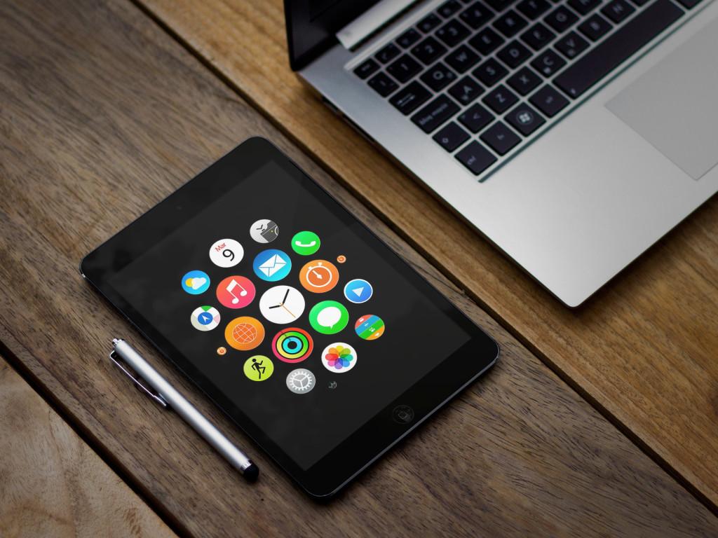 Most Inspiring Wallpaper Macbook Iphone - apple_watch_wallpaper_ipad_1024x768_by_ispazio-d8l199f  HD_799660.jpg