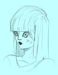 Random Girl in Blue