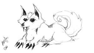 Alleigh - The Monster Doggo of Doom