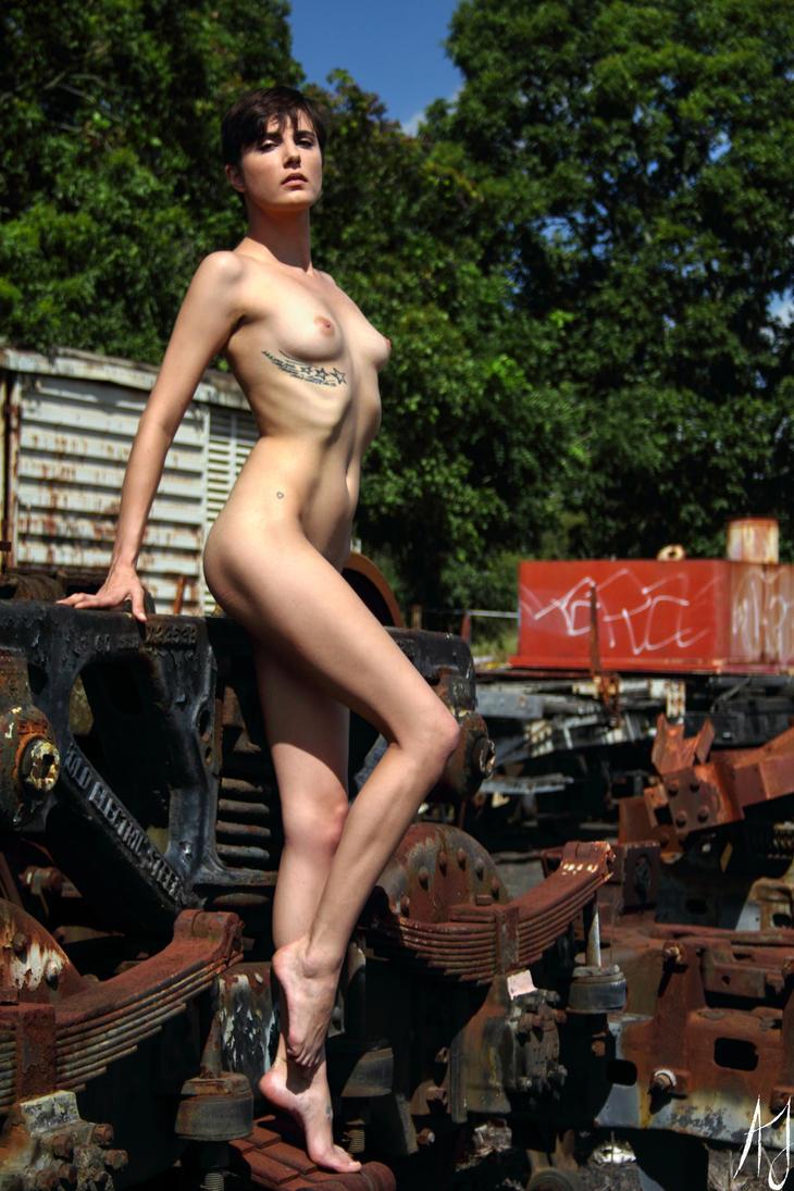 Beauty amidst the wreckage by AaronJJenkins