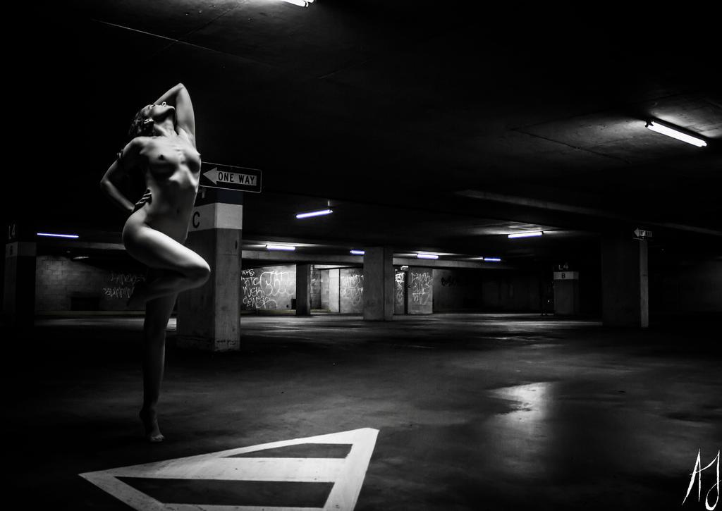 Industrial goddess X by AaronJJenkins