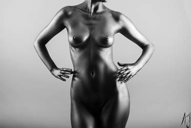 Silver figure II by AaronJJenkins