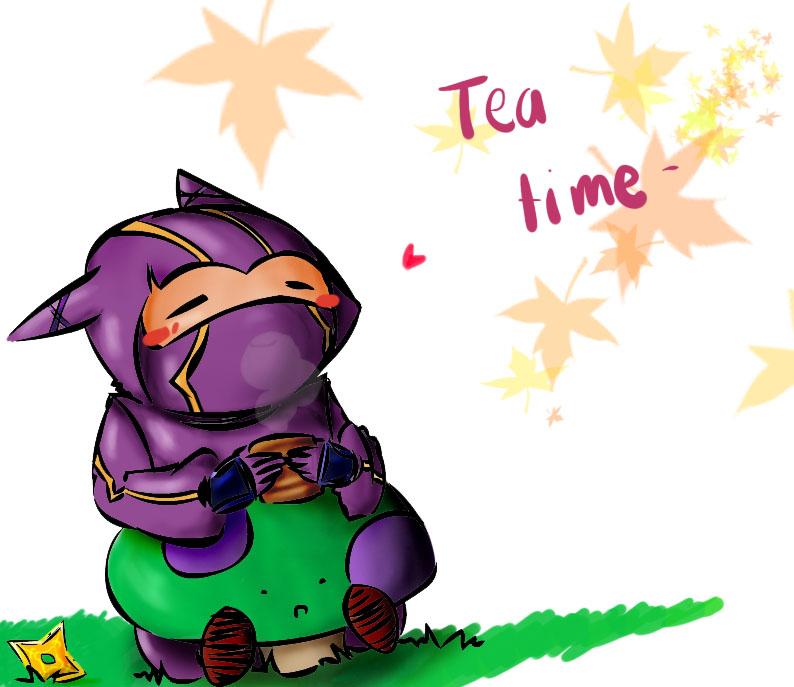 Kennen Mid tea for kennen by yukikitsu on deviantart