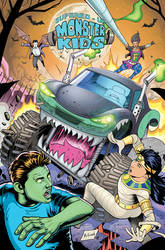 Monster Kids- Issue# 8 Cover