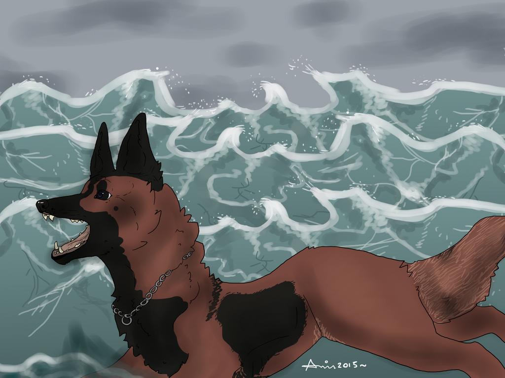 Storm by Ahiruh