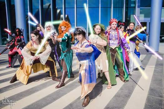 Disney Princess Jedis