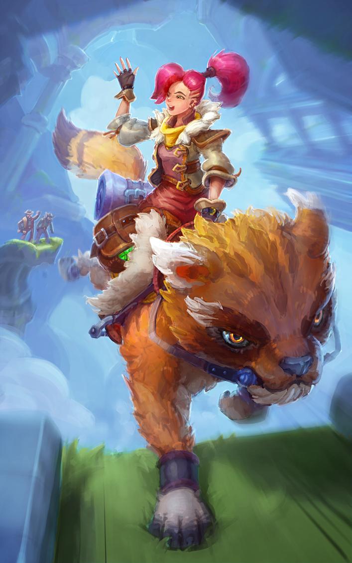 Treasure Huntress by sirotaga