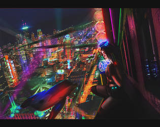 Night City by DanilDark