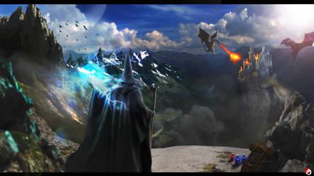 Wizard by DanilDark