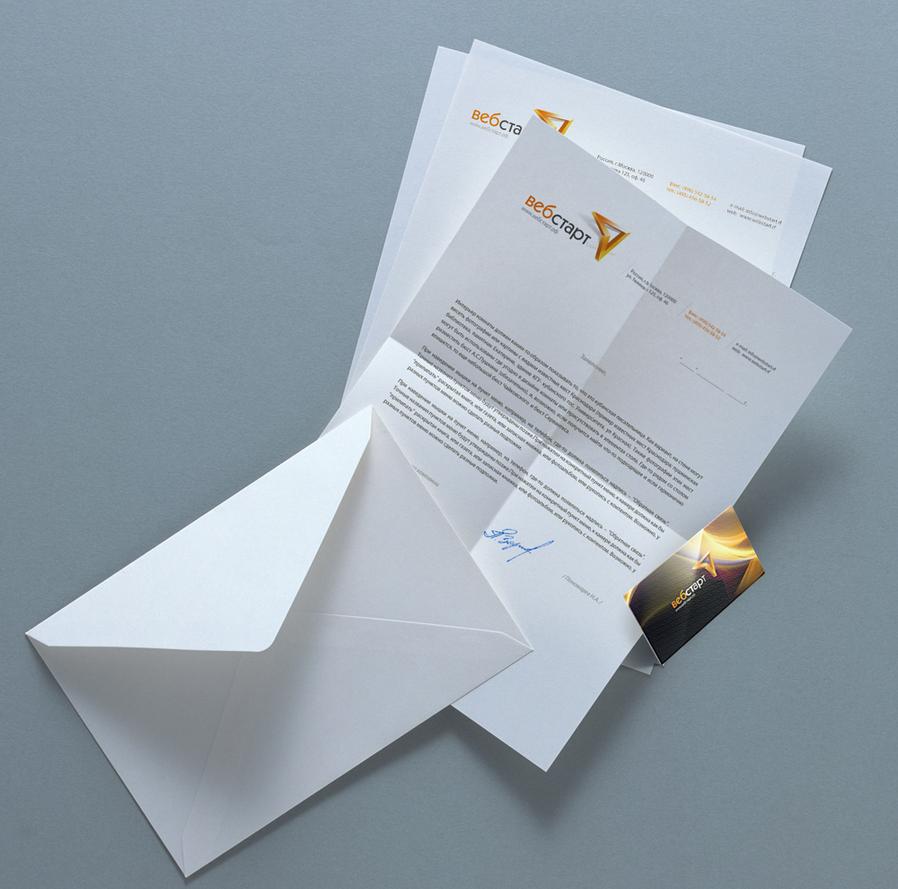 Corporate identity 'Webstart' by nikitaindesign