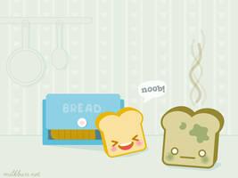 Toast's Death 3 Wallpaper by milkbun