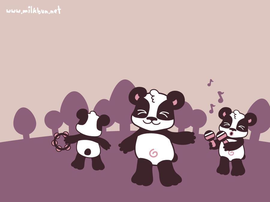 Panda Dance Wallpaper