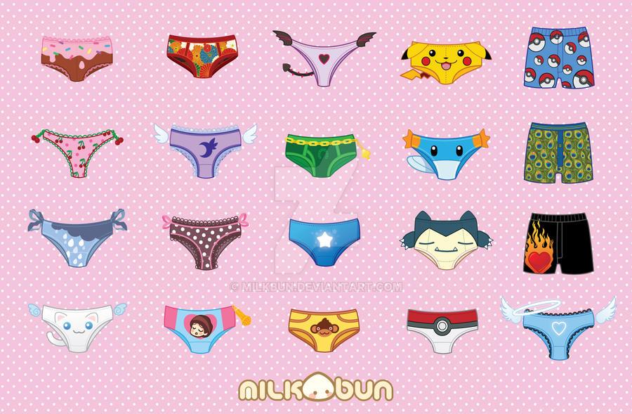 Piles Of Panties By Milkbun On DeviantArt
