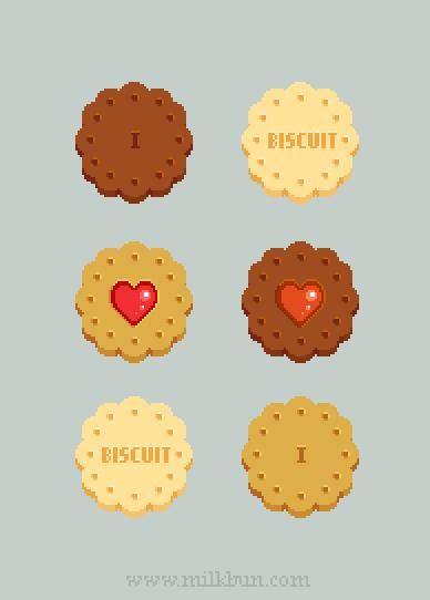 I Heart Biscuit by milkbun