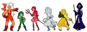 The New North Crystal Gems