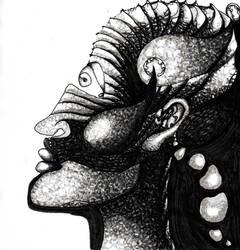 Mask19' by Caroo999