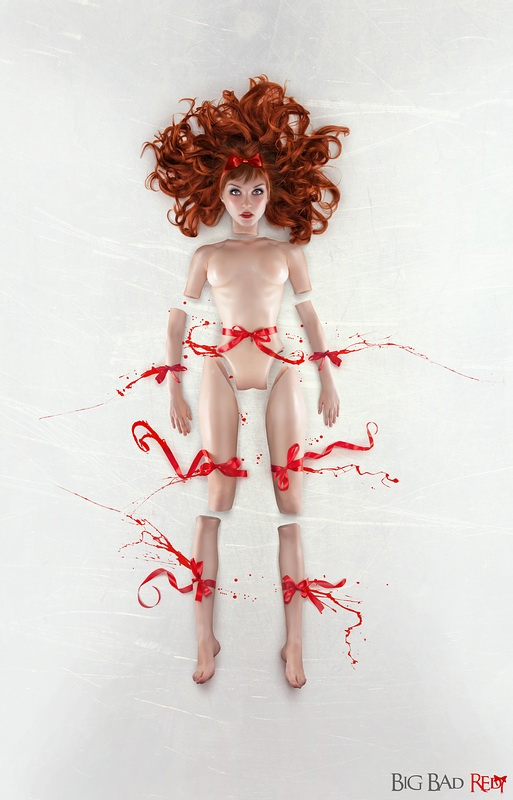 Red Ribbon by BigBad-Red