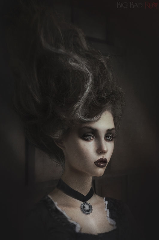 Gothic Portraits: Elsa by BigBad-Red
