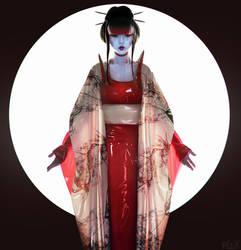 Geisha by BigBad-Red