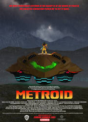 Metroid Movie Poster