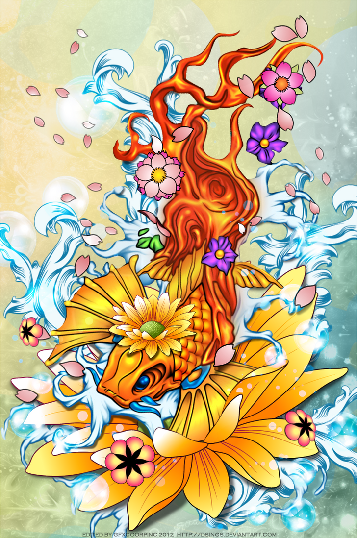 Koi fish by dsings on deviantart for Koi fish net