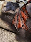 Dragon Wing Pendants