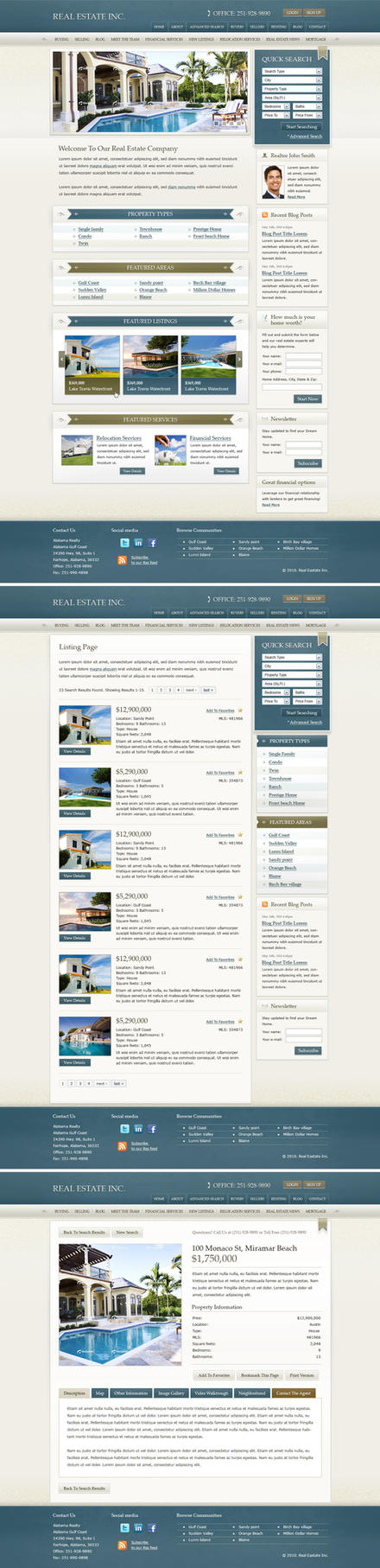 Real Estate Theme by c-quence