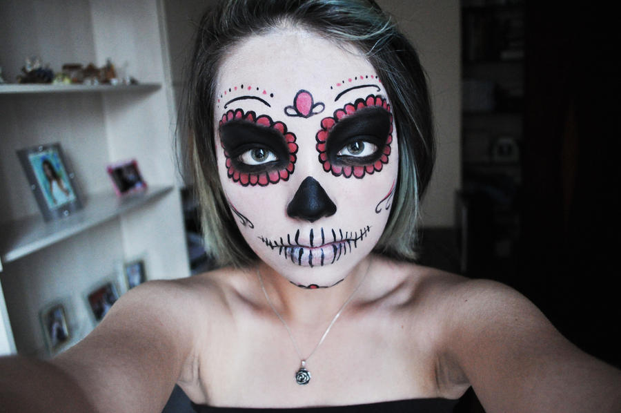 mexican skull by chunkymonk3y - Mexican Halloween Skulls