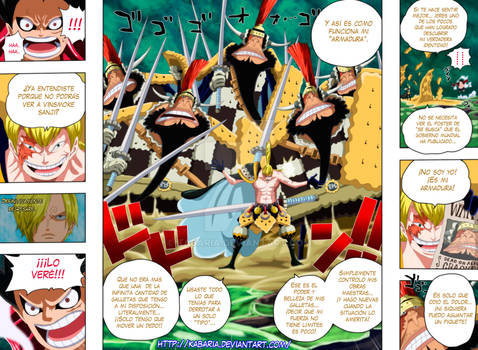 One Piece 838 - pag 08 - 09