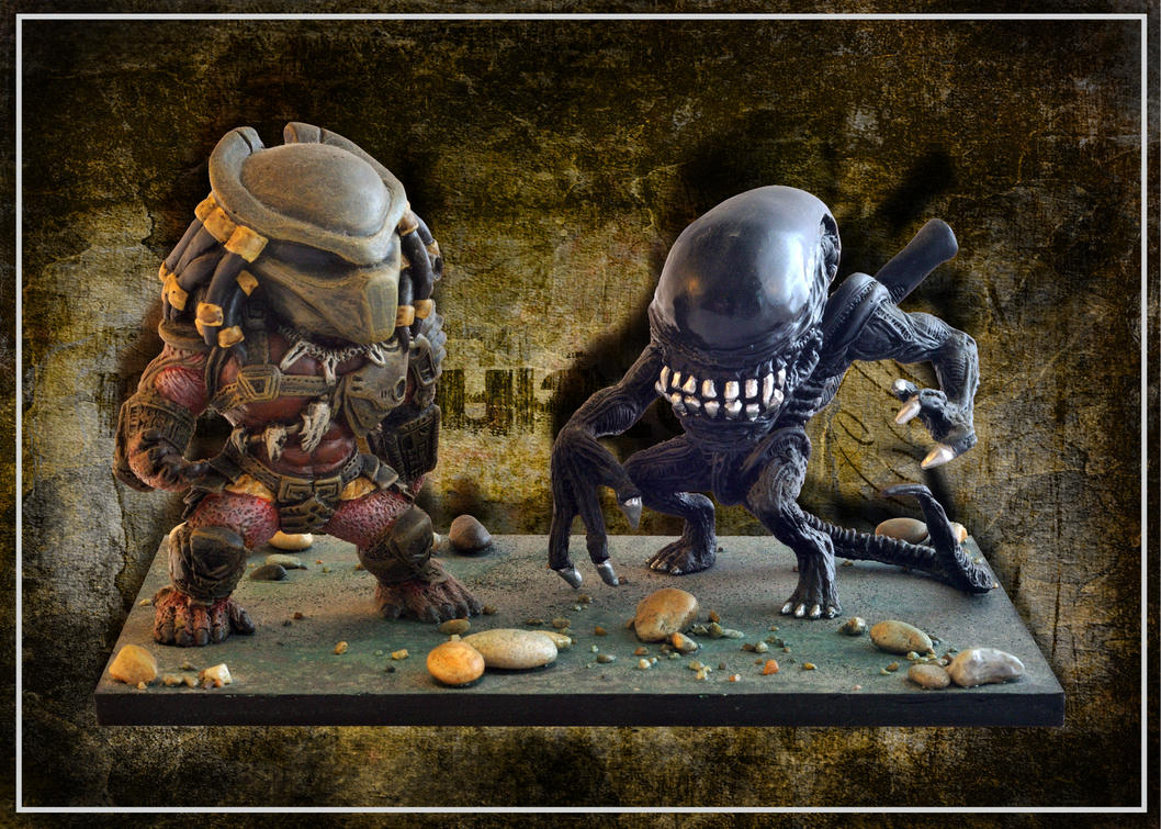 Alien Vs Predator by FarawayPictures