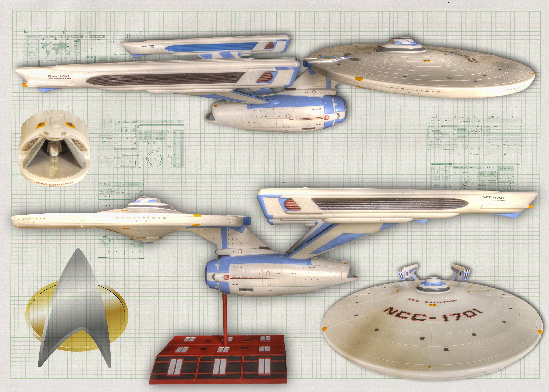 USS Enterprise by FarawayPictures