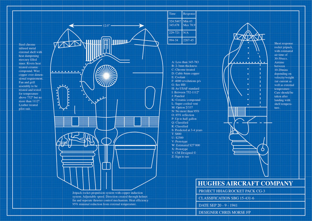 Rocketeer jetpack blueprints by farawaypictures on deviantart Building blueprint maker