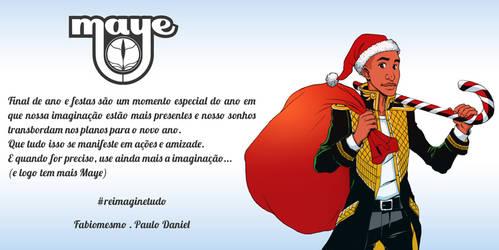 Maye o primeiro natal do Escriba! by Squire-di-Luce