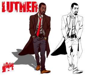 Luther antes e depois! by Squire-di-Luce