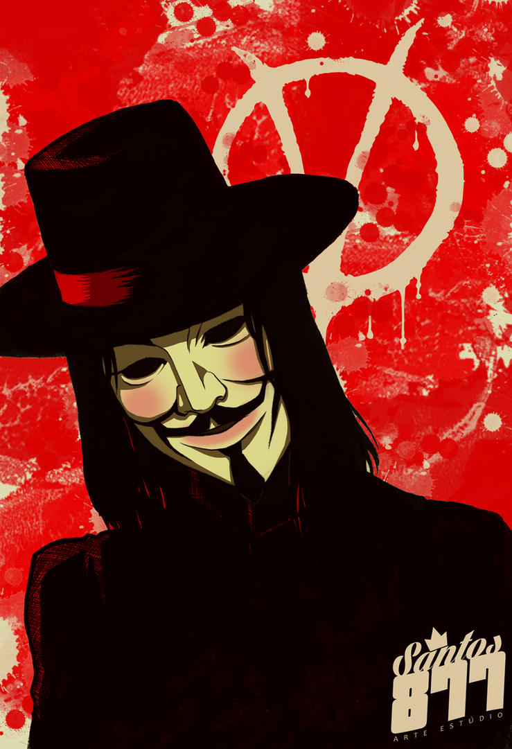 V for vendetta! by Squire-di-Luce