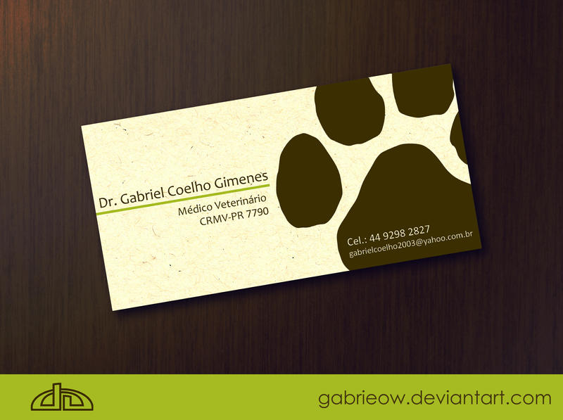 Vet Card by gabrieow on DeviantArt
