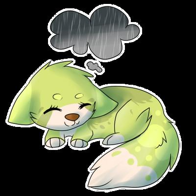 Fluffy-Puffball! by Samooraii