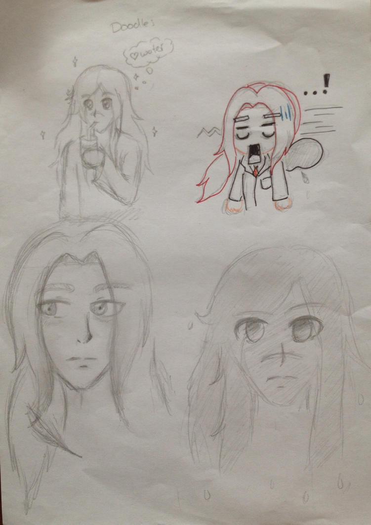 Doodles 1# by RosaPeach