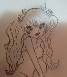 My first anime drawing