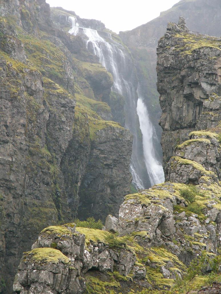 Waterfall No1 by LaurensStock