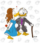 Once upon a time ~ Duckelstiltskin and Belle