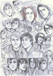 Frerard sketches by Silverleopard