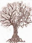 steampunk tree