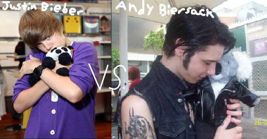 Justin Bieber vs Andy Biersack Andy Biersack Little Sister
