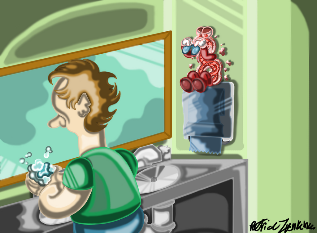 Ebola symbol illustration by Thegarfieldtouch