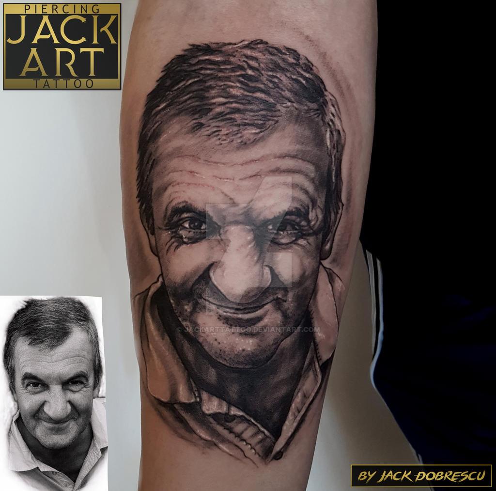 Jack Art Tattoo Bucuresti Tatuaj Portret By Jackarttattoo On