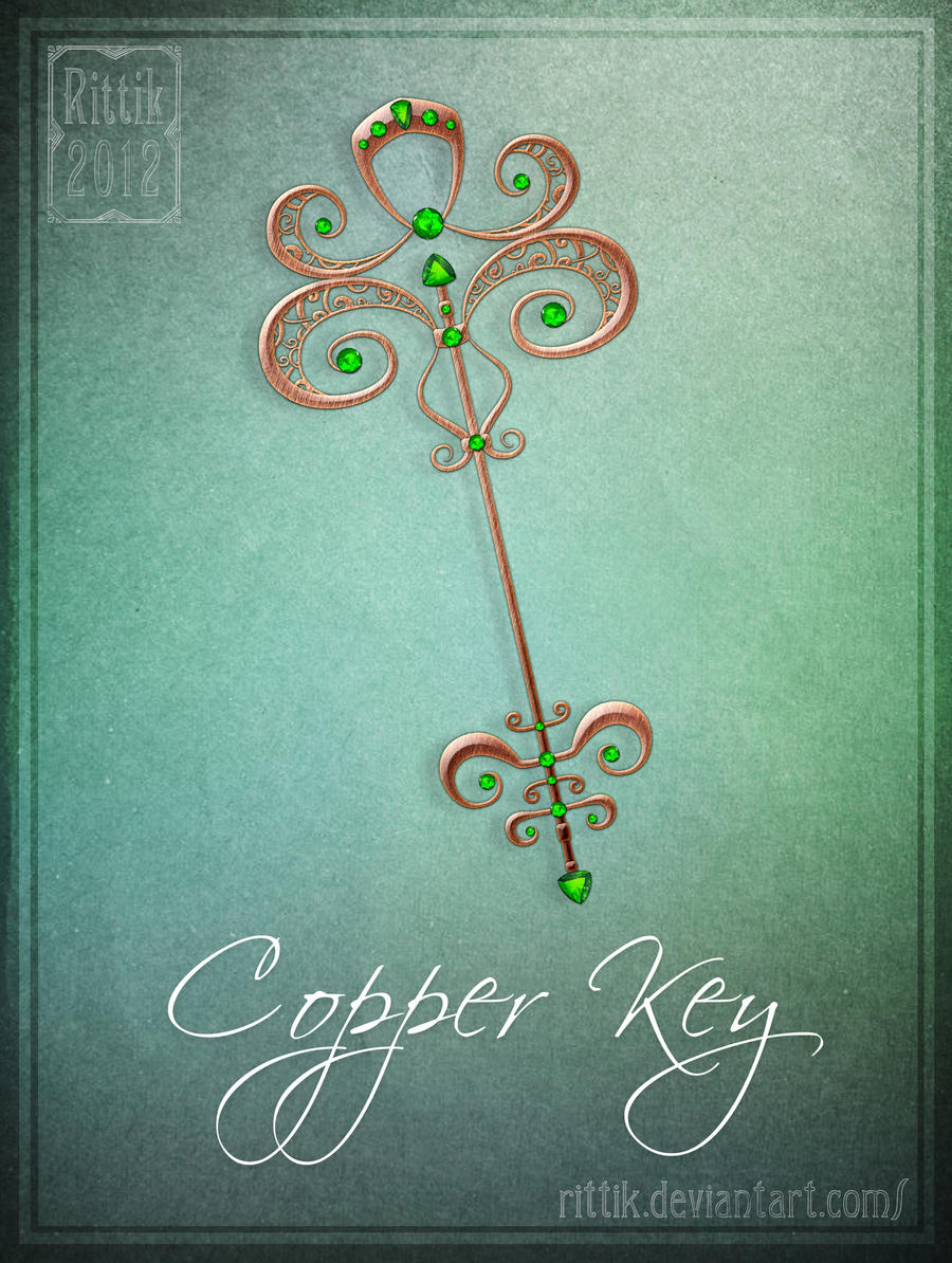 Copper Key by Rittik