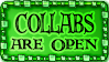 Collbas are open
