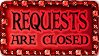 Requests are closed