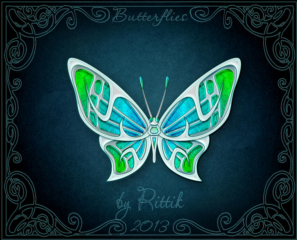 Butterflies - Brisa by Rittik